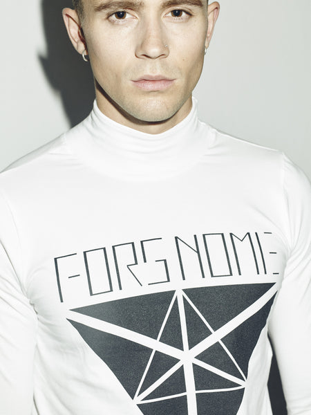 LOGO TURTLENECK SHIRT UNISEX - ON SALE