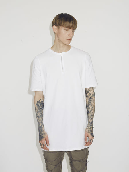 ZIP TEE UNISEX - ON SALE