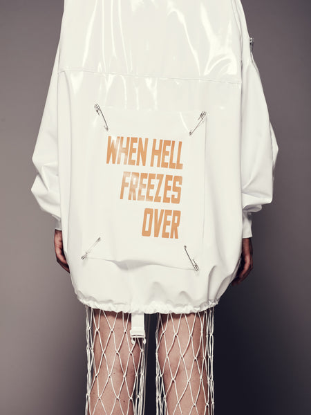 HELL STATEMENT ANORAK UNISEX