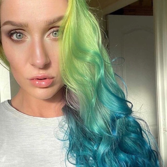 FLUORESCENT LIME | HAIR COLOUR DIRECTIONS