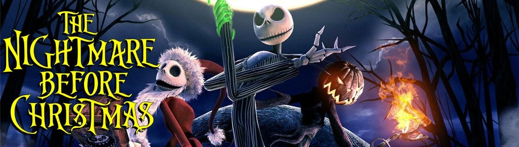 nightmare before christmas banner