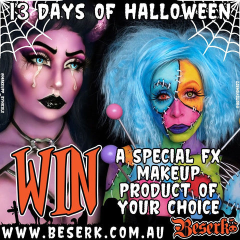 Win a Special FX Makeup Product Of Your Choice
