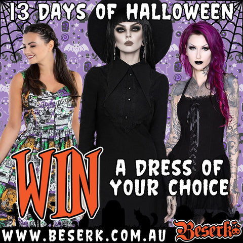 Win a Dress Of Your Choice