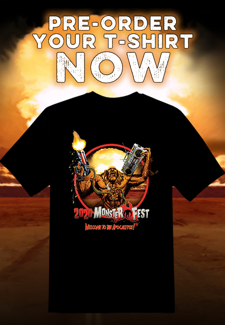 pre order t-shirt monster fest buy online shop australia monster fest 2020 welcome to the apocalypse
