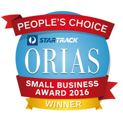 Orias Small Business Award Winner 2016