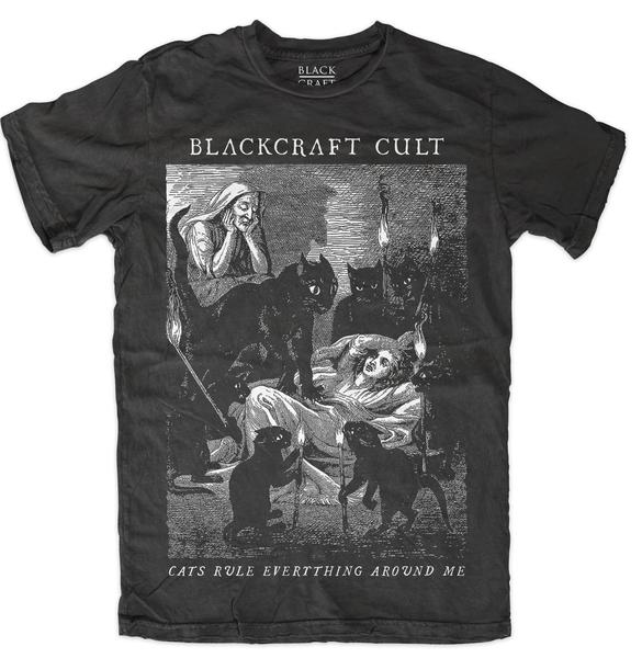 blackcraft cult cats rule tshirt