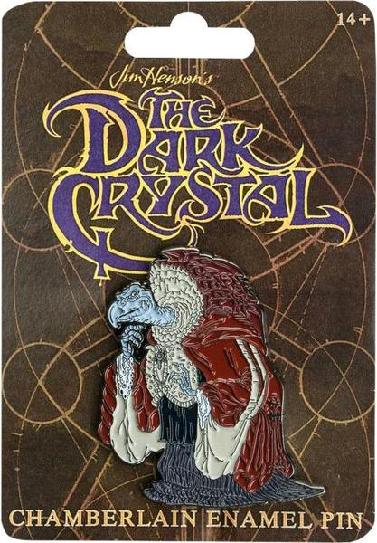 the dark crystal chamberlain enamel pin