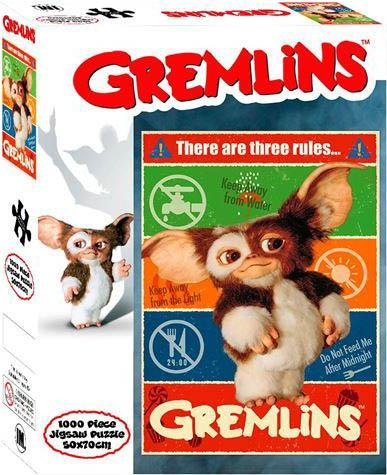 GREMLINS: 3 RULES [1,000 PCE] | PUZZLE COLLECTABLES