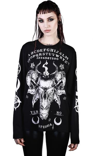 ouija long sleeve tshirt unisex disturbia