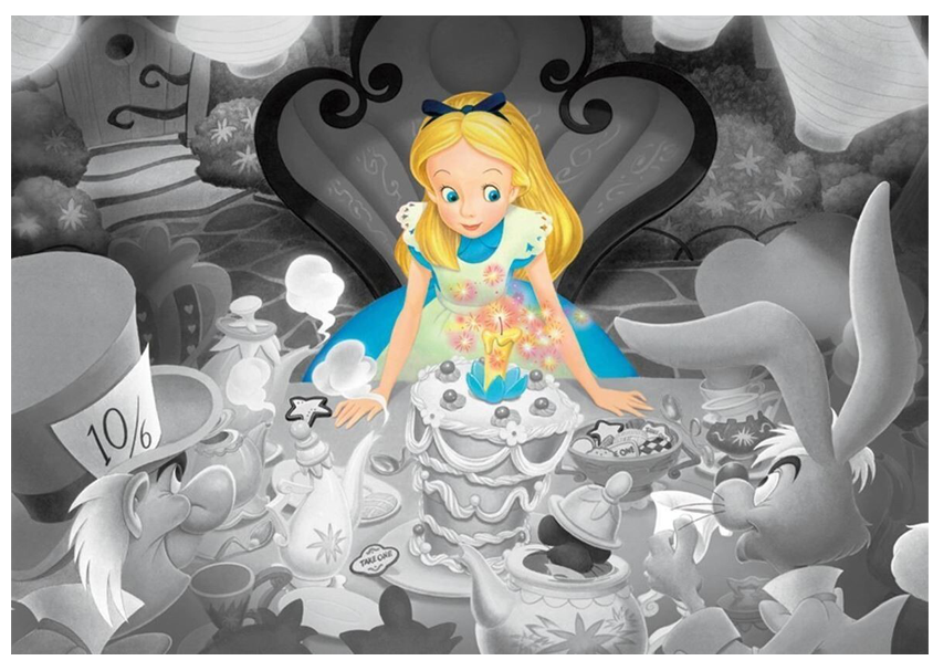 DISNEY | ALICE IN WONDERLAND HAPPY BIRTHDAY FROST ART [500 PCE] PUZZLE