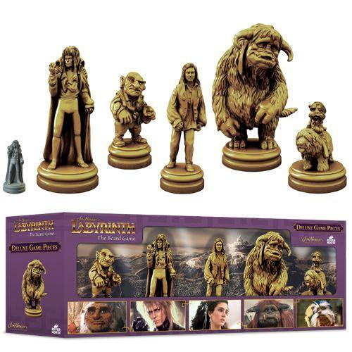 labyrinth deluxe board game pieces tim burton