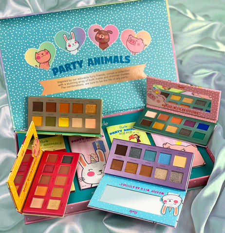 Party Animal Eyeshadow Pallettes