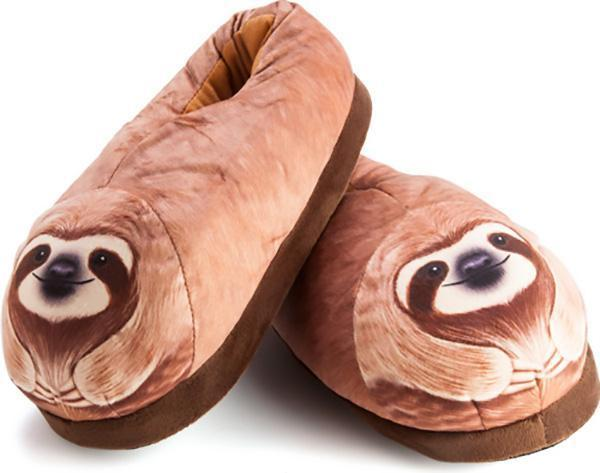 sloth slippers