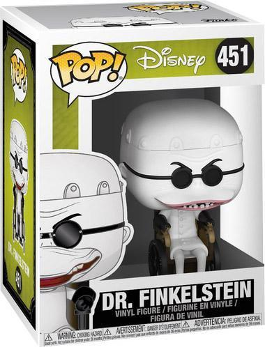 nightmare before christmas dr finkelstein box