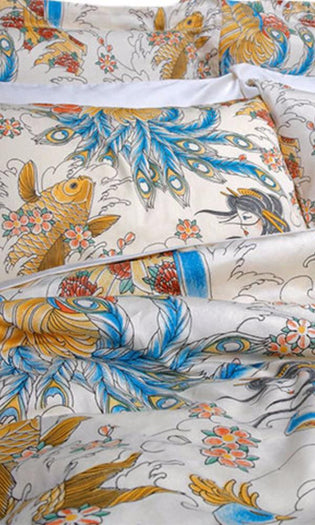 Geisha Garden Tattoo | DOUBLE/QUEEN DUVET COVER