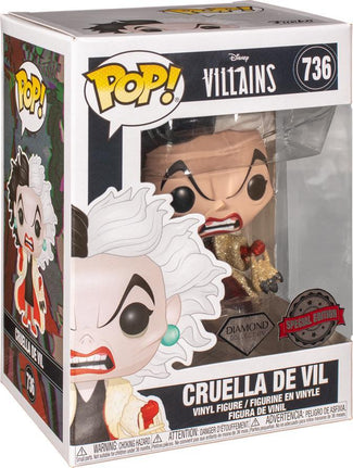 101 Dalmations | Cruella DGL POP! VINYL