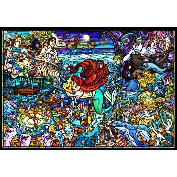 Disney | The Little Mermaid Story Stained Glass [500 Pce] PUZZLE