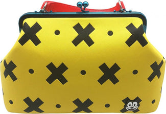 Felix The Cat | Yellow & Black CROSSBODY BAG