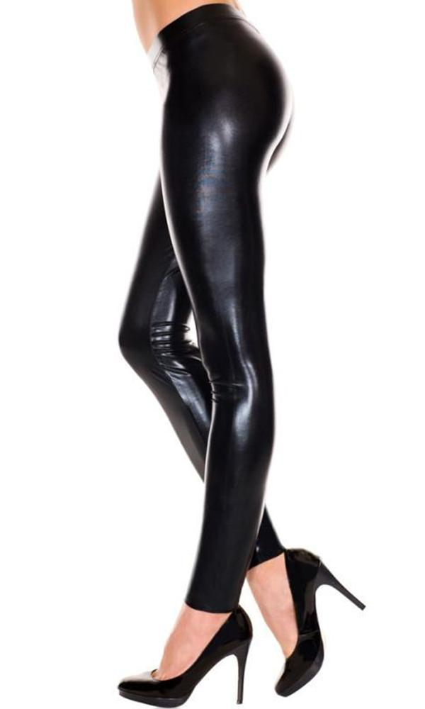 Liquid [Metallic Black] | LEGGINGS