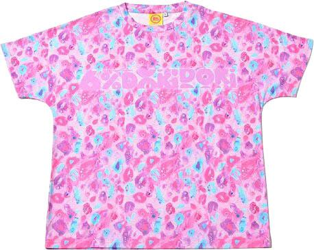 Colourful Rebellion Animal [Pink Leopard] | T-SHIRT