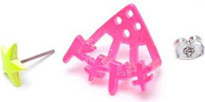 Docking Dokidoki [Pink] | EARRING
