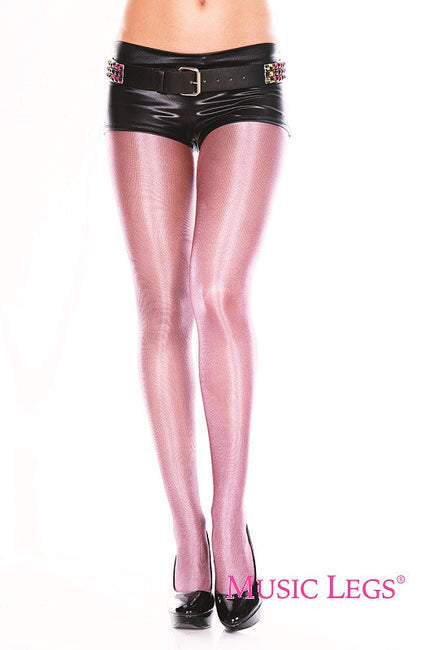 Shiny Metallic [Pink] | PANTYHOSE