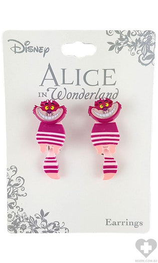 Alice In Wonderland | Cheshire Cat Swivel EARRINGS