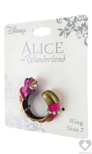 Alice In Wonderland | Cheshire Cat Swivel RING*