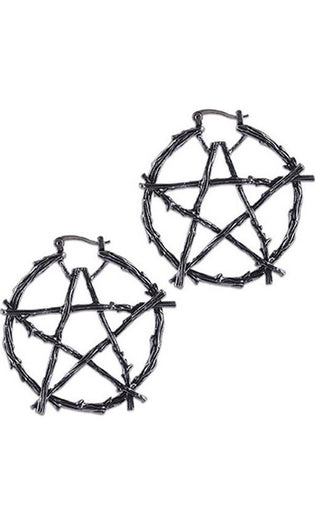 Branch Pentagram | EARRINGS