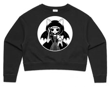 Cat Magick | CROP SWEATSHIRT