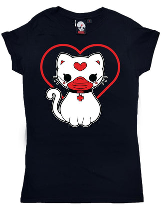 Pawsitivity Kitty | CHARITY T-SHIRT LADIES