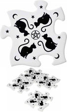 Black Cats | CERAMIC JIGSAW COASTER