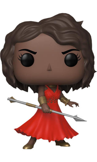 Black Panther Okoye w/Red Dress NYCC18 Exclusive Pop! [RS]