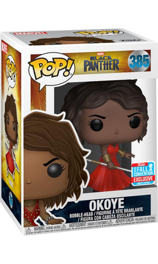 Black Panther - Okoye w/Red Dress  | NYCC18/ Fall Convention Exclusive Pop! Vinyl [RS]