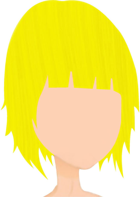 Canary Yellow Hair Colour