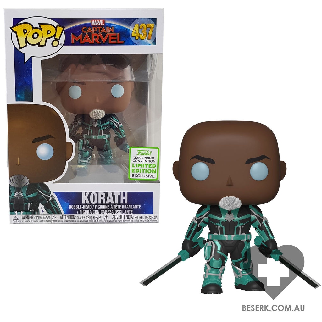 Captain Marvel - Korath Starforce Pop! | ECCC 2019 Spring Convention Exclusives [RS]