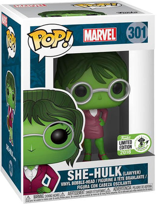Marvel | She Hulk Lawyer | ECCC 2018 US Exclusive Pop! Vinyl