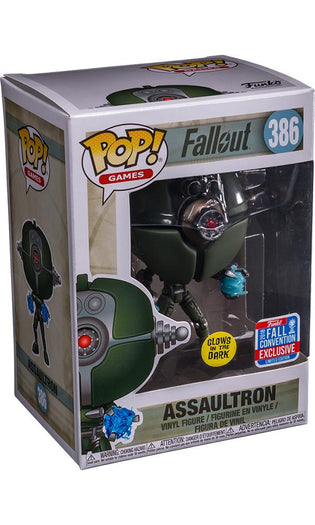 Fallout - Assaultron Invader GW | NYCC18/ Fall Convention Exclusive Pop! Vinyl [RS]