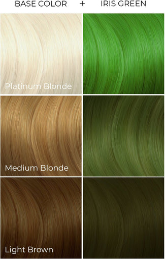 Iris Green | HAIR COLOUR [118ml]