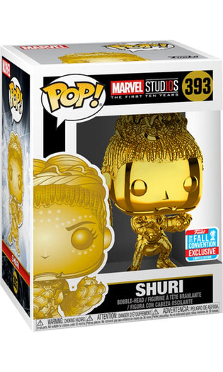 Marvel Studios - Shuri CH | NYCC18/ Fall Convention Exclusive Pop! Vinyl [RS]