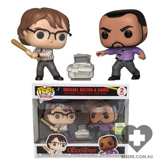 Office Space - Samir & Michael Pop! 2pk | ECCC 2019 Spring Convention Exclusives [RS]