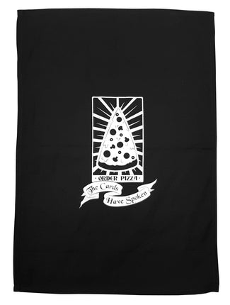 Tarot Card Pizza | TEA TOWEL