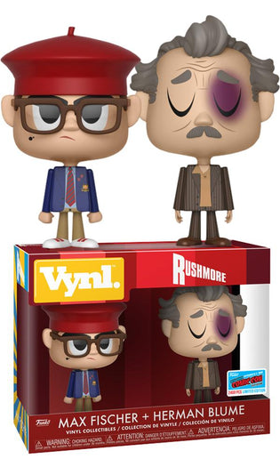 Rushmore Max Fischer Herman Blume NYCC18 Exclusive Vynl [RS]*
