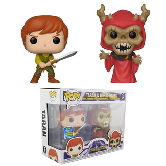 Black Cauldron - Taran, HorndKing Pop! Vinyl 2 Pack | SDCC 2019 SUMMER CONVENTION EXCLUSIVES [RS]