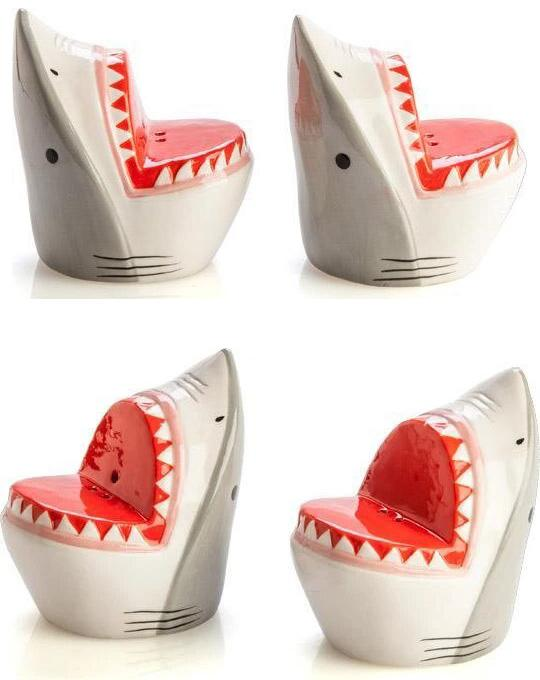 Shark Attack | SALT & PEPPER SET