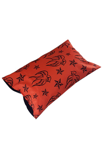 Stars & Swallows | PILLOWCASE SET*