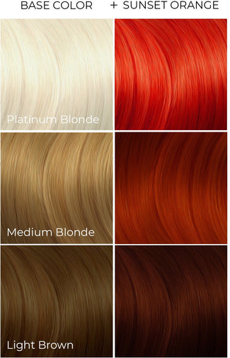 Sunset Orange | HAIR COLOUR [236ml]