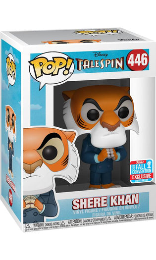 TaleSpin - Shere Khan Hands Together | NYCC18/ Fall Convention Exclusive Pop! Vinyl [RS]
