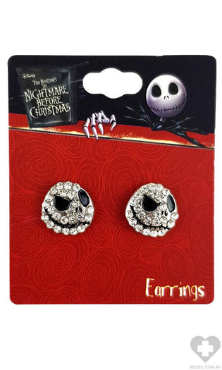 The Nightmare Before Christmas | Jack CRYSTAL EARRINGS