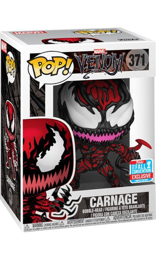 SpiderMan - Carnage w/Tendrils | NYCC18/ Fall Convention Exclusive Pop! Vinyl [RS]